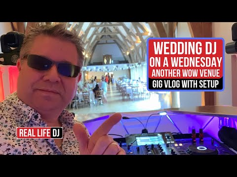 Amazing Wedding Venue Mid Week Wedding MUST WATCH... Mobile DJ Gig vLog Wedding DJ
