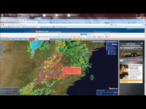 3/2/2012 -- At LEAST 10 tornadoes on the ground !!  East Coast / Mid Atlantic states ALERT !