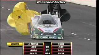 John Force VS. Jim Head Round 2 Carreer Best Fire Bird Raceway Phoenix 2010.mpg