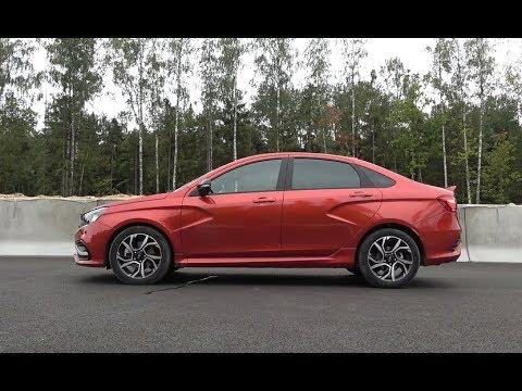 Тест Lada Vesta Sport   лучший автомобиль, выпущенный АвтоВАЗом!