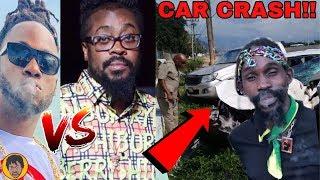 BREAKING NEWS   Stylo G DISS Beenie Man WICKED!! Munga Car Crash