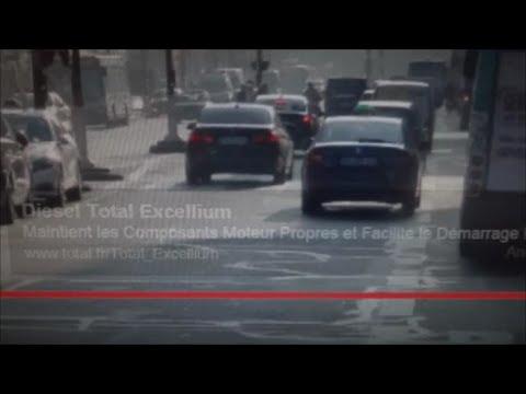 Diesel roulez avec TOTAL Excellium pollution aux particules fines Paris