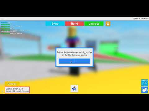 All The Codes For Obstacle Paradise 2018 Youtube - obstacle paradise roblox codes