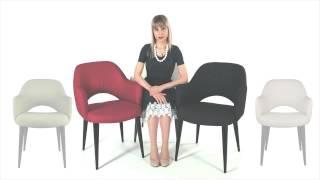 Дизайнерское кресло Martin от бренда DEEP HOUSE(Мягкий дизайнерский стул для ресторанов и кафе. Износостойкая ткань. Металлический каркас. Только в магази..., 2015-03-27T15:51:55.000Z)