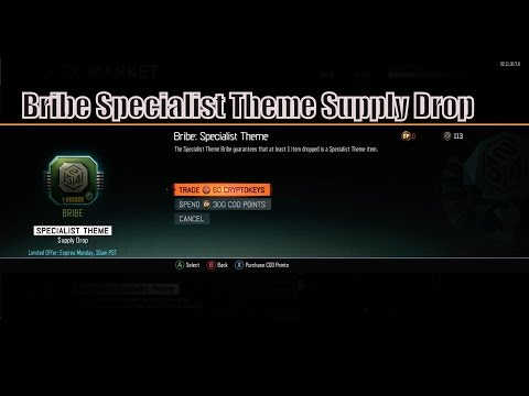 BRIBE SPECIALIST THEME SUPPLY DROP (280 Crypto-keys)