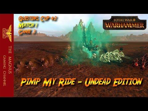 Questing Cup Tournament #2 - Match 1 Game 3 -Total War Warhammer Tournament |