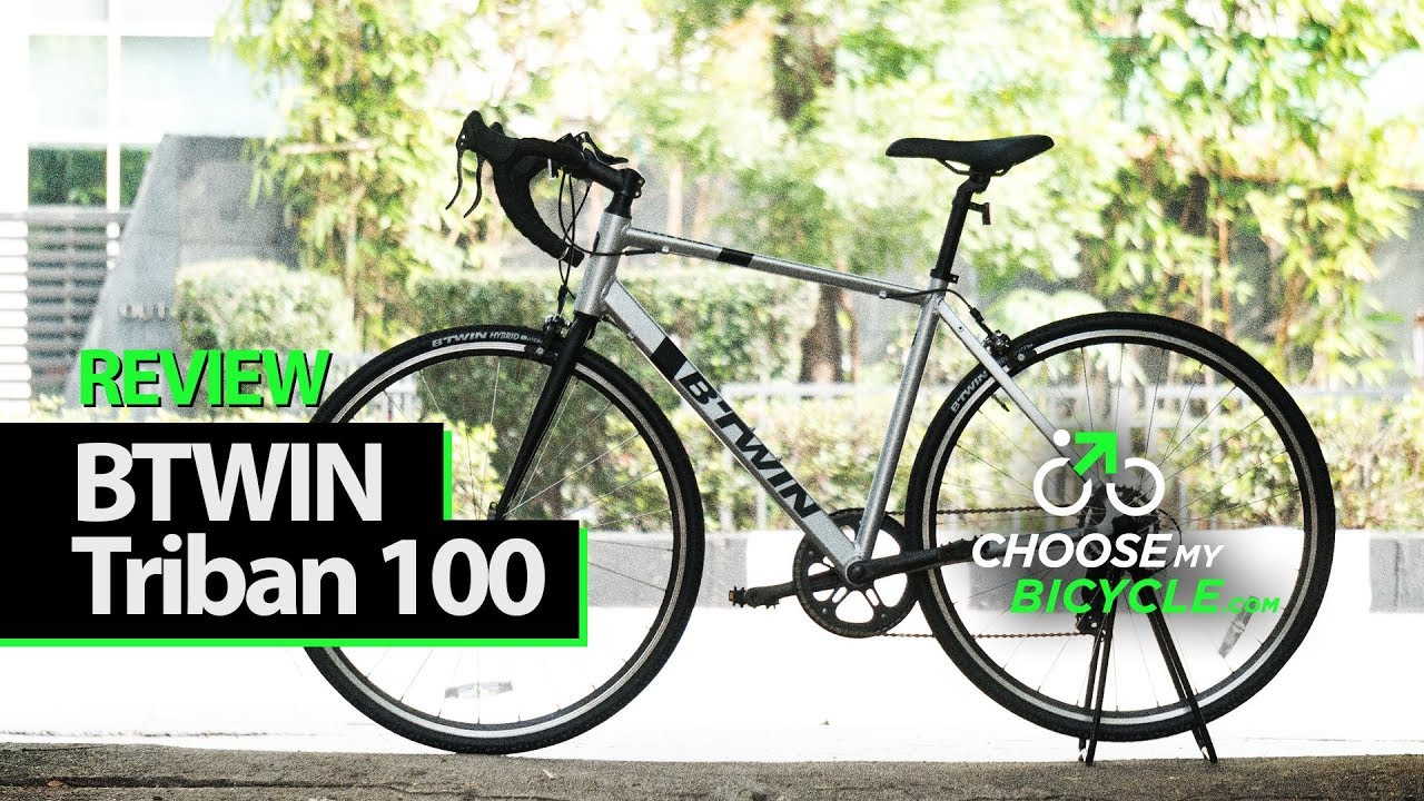 Btwin Triban 100 (2017): ChooseMyBicycle com Expert Review