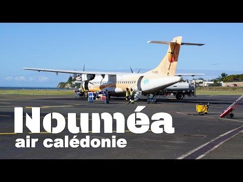 Landing Noumea New Caledonia - ATR 42
