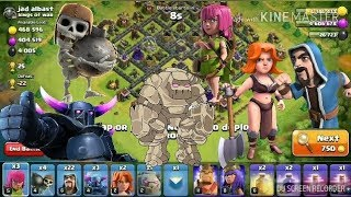 2018 TH9 BEST GROUND ATTACK STRATEGY Clash Of clans Gamer Boy Subhankar