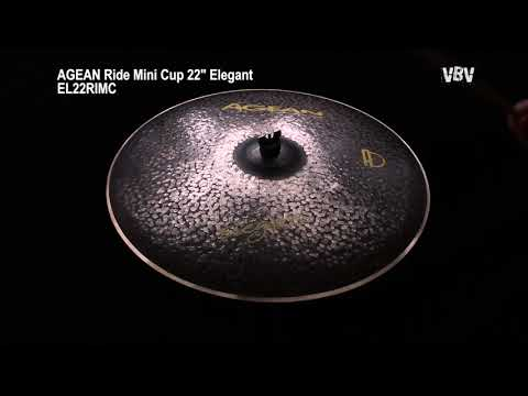 "22"" Ride Mini Cup Elegant video"