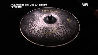"22"" Ride Mini Cup Elegant video"