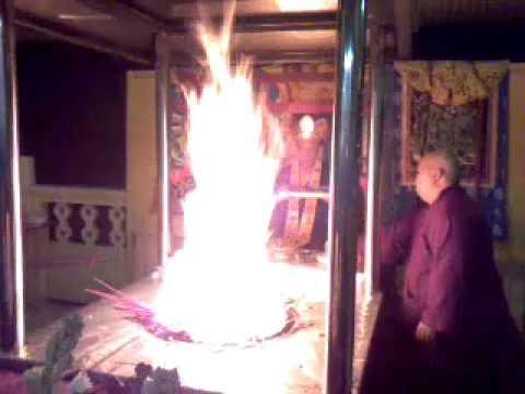 Ceremonia Homa Fire Maha Cundi - Zhǔntí Púsà 準提菩薩
