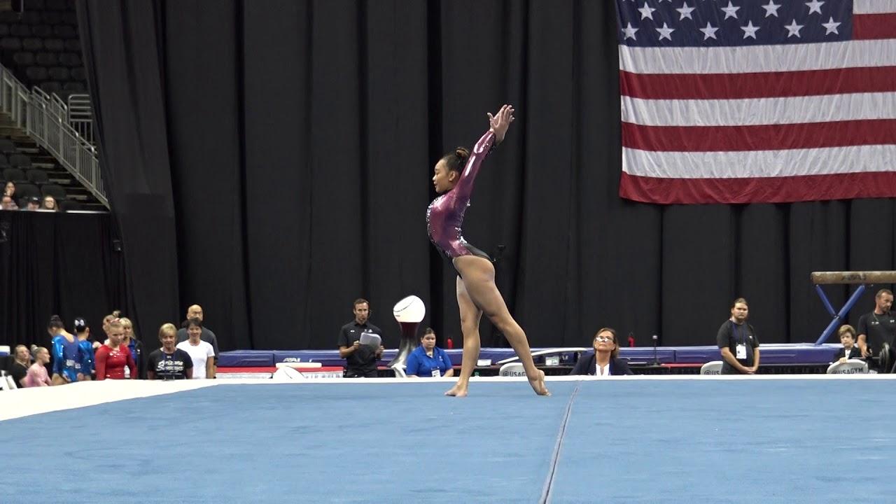 Sunisa Lee – Floor Exercise – 2019 U.S
