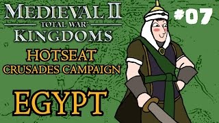 Medieval 2: Total War - Kingdoms Crusades Hotseat Campaign - Part 7!