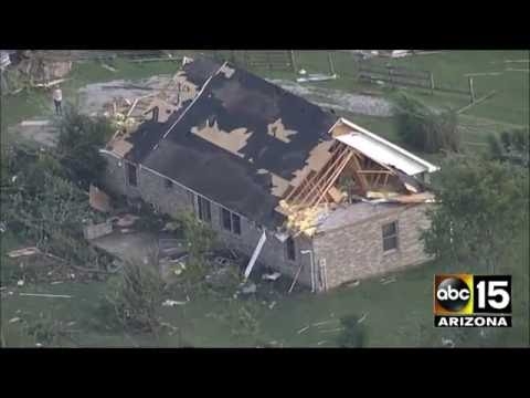 Some of the WORST Indiana tornado visuals from today