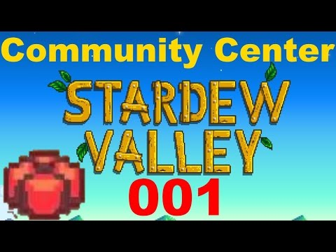 Stardew Valley Community Center - Episode 1 (Spring 1 - 4)