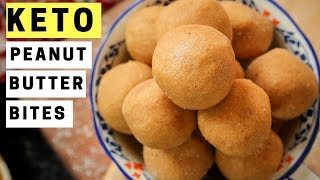 KETO Peanut Butter Cookie Bites - ONLY 2 NET CARBS - Easy Low Carb Keto Recipes For Beginners