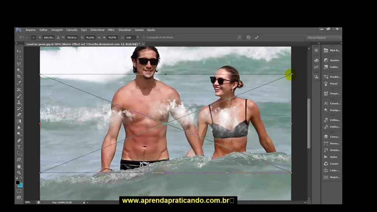 Video Aula Como Remover Pessoas E Objetos De Fotos Com Photoshop