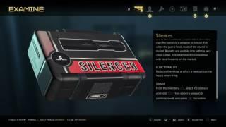 Deus Ex: Mankind Divided - TF-29: Vincent Black Safe Code 7913 Silencer Combat Rifle Upgraded