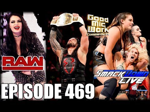 Roman Reigns NEW IC Champion | Paige Returns to WWE | NXT Women DEBUT on RAW and SDLive