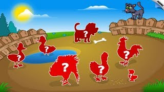 Kids Animal Preschool Shape Puzzle Top Best Android Game # 2