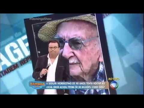 Geraldo Luís conversa com homem que encontrou pedra de R$ 30 milhões e perdeu tudo com um golpe !