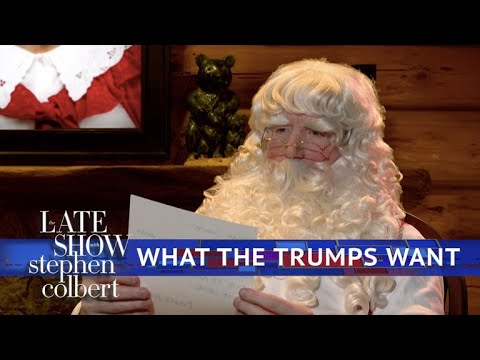 Letters To Santa From The Trumps