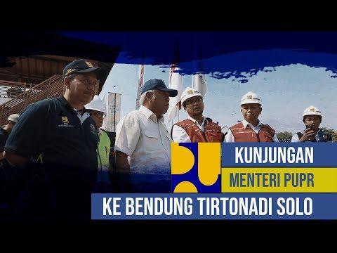 Menteri PUPR Basuki Hadimuljono kunjungan ke Bendung Karet Tirtonadi Solo #BBWSBengawanSolo thumbnail