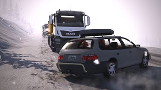 BeamNG Drive - Realistic Car Crashes #9