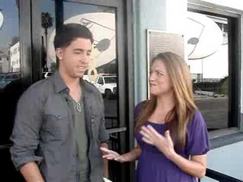 Colby O'Donis talks to KTLA's Leticia Preciado-Part 1