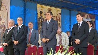 Primul-ministru Victor Ponta a participat la Sfânta Liturghie de la Biserica Sfântul Gheorghe Nou