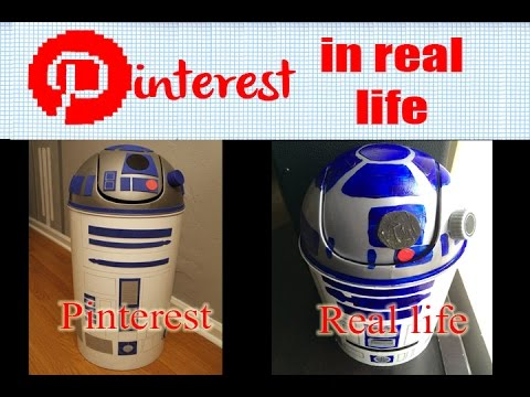 Diy r2d2 trash can pinterest in real life youtube diy r2d2 trash can pinterest in real life solutioingenieria Image collections