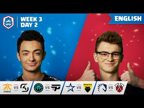 Clash Royale League: CRL West 2019 | Week 3 Day 2! (English)