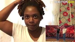 REACTION VIDEO TO AGT WEIRDEST AUDITIONS