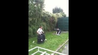 Funny Video: Man in air very funny