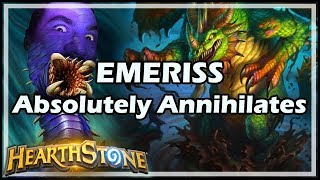 EMERISS Absolutely Annihilates - Rastakhan's Rumble Hearthstone