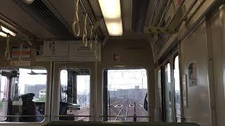 JR西明石駅から明石、電車線