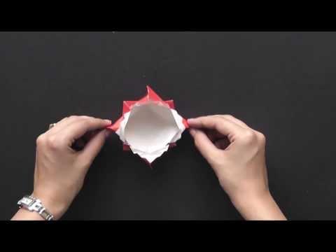 xếp hộp xếp li theo phong cách origami