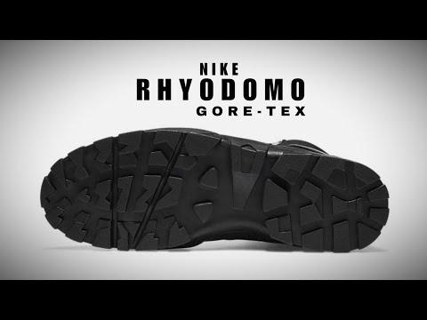 NIKE RHYDOMO GORE-TEX BLACK 2020 DETAILED LOOK