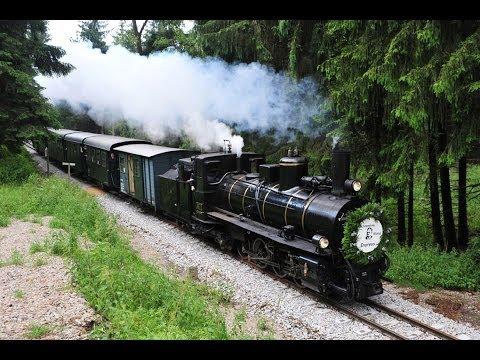"""Waldviertel Schmalspurbahn Mh1 Sonderzug """"Schrammel Klang Express 2013"""""""