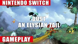 Dust: An Elysian Tail Nintendo Switch Gameplay