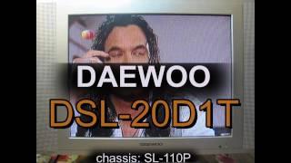 Ремонт DAEWOO DSL-20D1T chassis: SL-110P