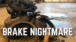 Chevy Avalanche Brake Nightmare