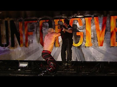 Shane McMahon vs. Kane - Last Man Standing Match: Unforgiven 2003