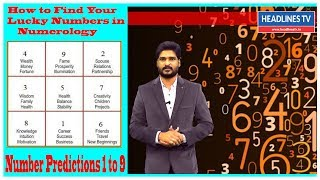 How To Find Your Lucky Numbers In Numerology Number Predictions 1 To 9 HEADLINESTV
