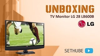 Unboxing TV Monitor LG 28