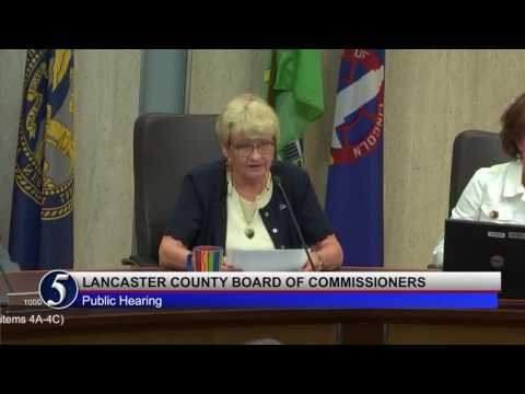 Lancaster County Board of Commissioners August 30, 2016