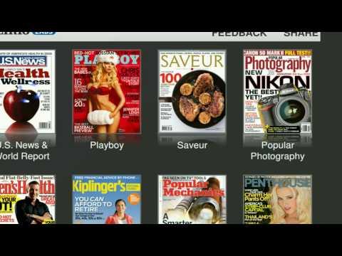 Free Magazine Online from Zinio - Firefox - Linux Mint 6