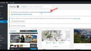 How to import demo content for free WordPress themes from ThemeGrill