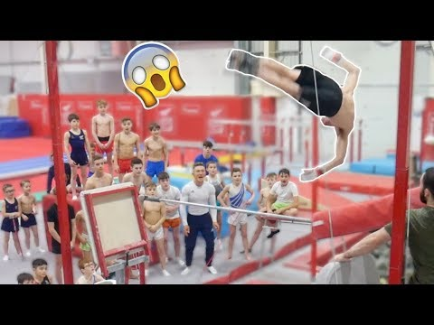HE'S CHANGED GYMNASTICS FOREVER! {50 years old}